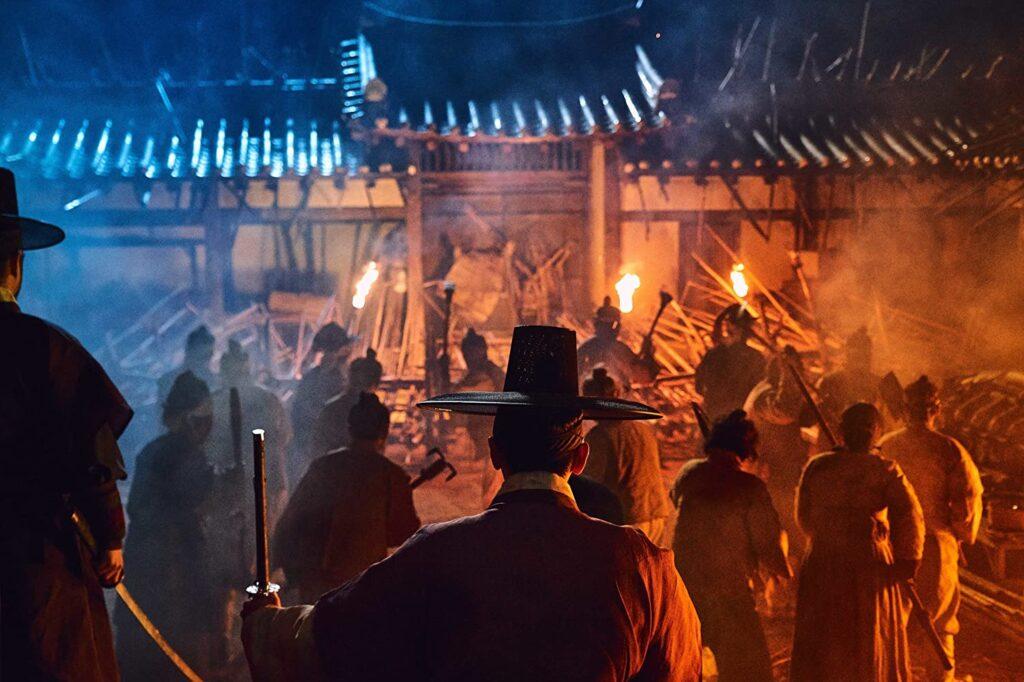 Kingdom visar otroligt vackert och brutalt våld. Foto: Juhan Noh/Netflix