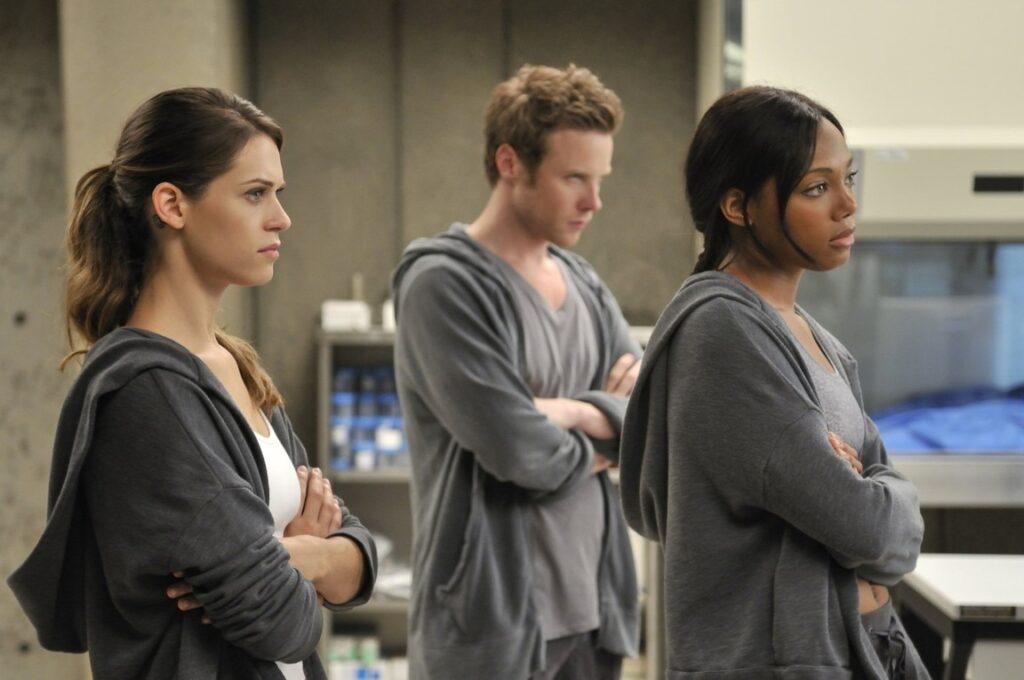 Nikita, Alex, Thom och Jaden på Division