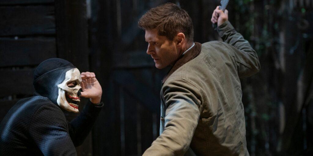 Dean jagar en vampyr